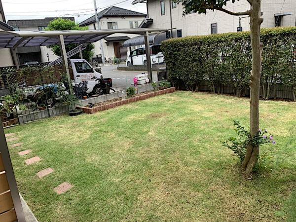 芝刈り/埼玉県上尾市