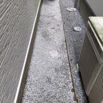 雑草対策:防草シート・砕石入れ/さいたま市