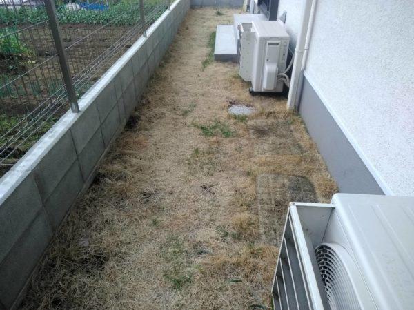 5.26 さいたま市中央区 芝剥がし、土壌改良、芝張