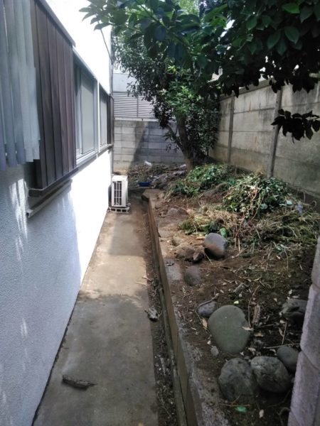 世田谷区草刈り作業