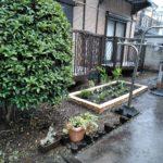 杉並区ハーブ花壇づくり