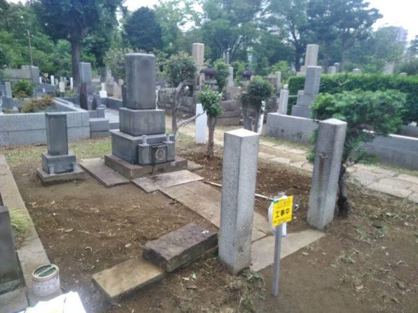 墓地草取り・伐採