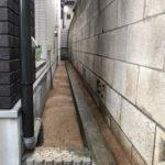 固まる土で防草対策/新宿区