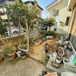 【お庭の管理】植木伐採、抜根、不用品処分、防草シート/上尾市