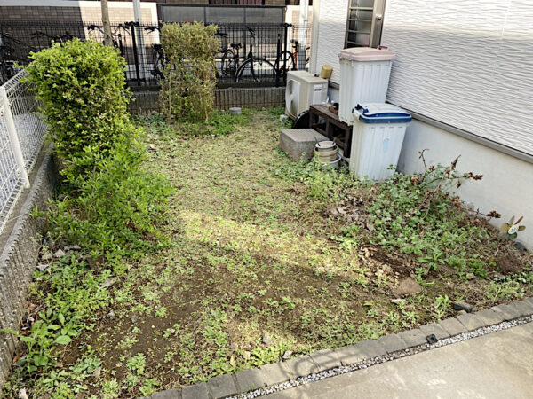 庭の植木全ての抜根作業/埼玉県ふじみ野市