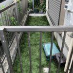 人工芝と砂利のメンテナンス/江戸川区