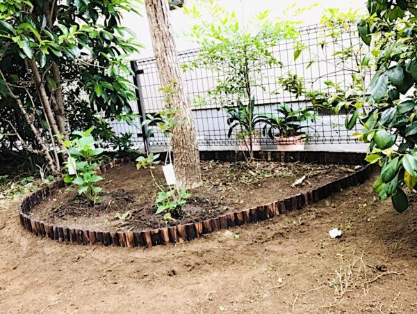 【お庭の作業】アジサイの植栽、花壇作り、プランターの土入れ、【雑草対策】防草シート、砂利敷き/さいたま市西区