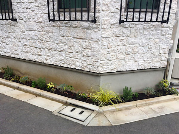 植栽コーディネート、土壌改良、砂利敷きト/豊島区