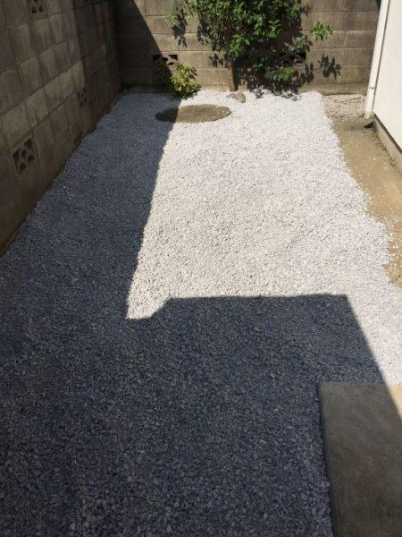 砂利敷き依頼業者埼玉県さいたま市上尾市
